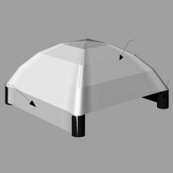 Basic Milan Tent 12x12