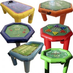 Combo 1 juegos de mesa 4p