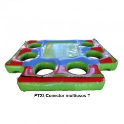 Conector multiusos T