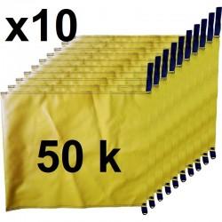 pack 10 ballast bags 50 kg