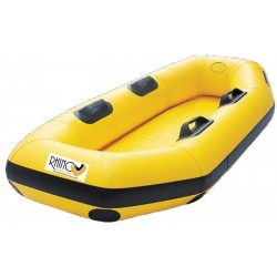 Inflatable boat for two people