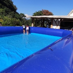Piscina inflable 7x14